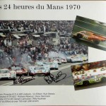 LE MANS 24 hours 1970 – Signed by Redman & Elford