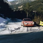 MONTE CARLO RALLY 1968 – 8″x10″ – Signed by Stone & Elford