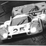 Le Mans 24 Hours 1970 Porsche 917 Elford/Ahrens, Siffert/Redman – Signed by 1 to 3 drivers: Kurt, Vic & Brian.