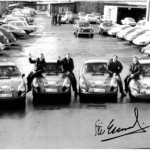 The 4 works Porsche 911 and their drivers