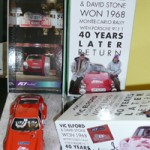 Fly Porsche 911T – Monte Carlo rally Anniversary Edition – Autographed by Vic Elford. Last one!