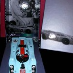 "Fly Gulf Porsche 917K – Vic Elford ""Making of Le Mans Collection"" – Autographed by Vic Elford"