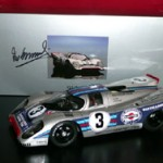 Martini Porsche 917K Sebring 12 hours 1971 Elford / Larrousse Victory signed by either Vic Elford or by both drivers! Last 2