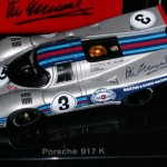 MARTINI PORSCHE 917K – Sebring 12hours 1971 Victory – Autographed by Vic Elford