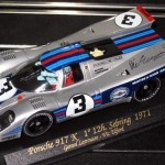 FLY Porsche 917K Sebring 12h.Victory Original Fly Slot Car (Limited Edition) – Autographed by Vic Elford. RARE – Last FLY C54