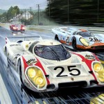 """""""Quick Vic"""" Porsche 917LH – Le Mans 24 hours 1970 – Signed by Vic Elford"""
