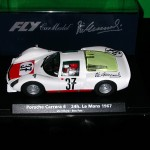 Fly PORSCHE 906 (CARRERA 6) – LE MANS 24h. 1967 – Autographed by Vic Elford – Last one !