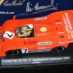 Fly A168 slot car Porsche 917/30  Hockenheim 1973 Victory – Autographed by Vic Elford