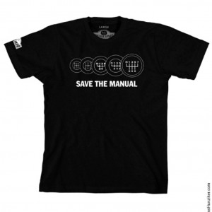 save the manual - black