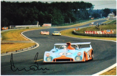 Sportscar Experience. Duke Archive DVD U2013 Get The DVD W. Art Cover Signed By  Derek Bell Or W. Autographed Photo