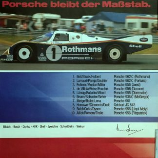 Original Vintage Porsche posters & photos