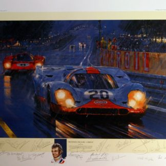 Art prints featuring Porsche
